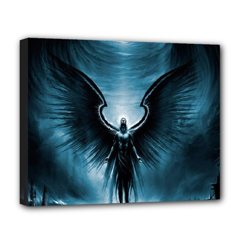 Rising Angel Fantasy Deluxe Canvas 20  X 16