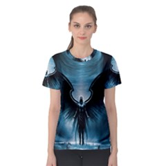 Rising Angel Fantasy Women s Sport Mesh Tee