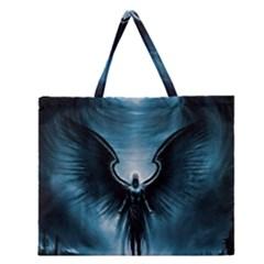 Rising Angel Fantasy Zipper Large Tote Bag