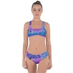 Rising To Touch You Criss Cross Bikini Set
