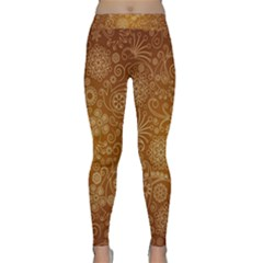 Batik Art Pattern Classic Yoga Leggings