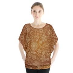 Batik Art Pattern Blouse