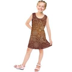 Batik Art Pattern Kids  Tunic Dress