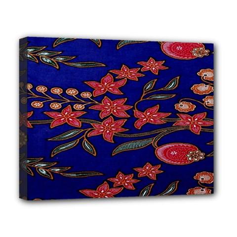 Batik  Fabric Deluxe Canvas 20  X 16