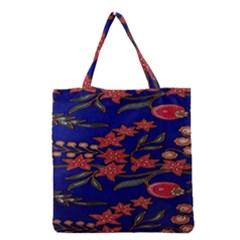 Batik  Fabric Grocery Tote Bag