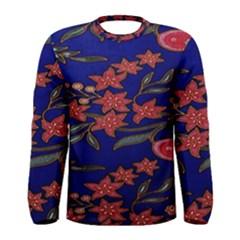 Batik  Fabric Men s Long Sleeve Tee