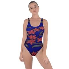 Batik  Fabric Bring Sexy Back Swimsuit