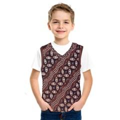 Art Traditional Batik Pattern Kids  Sportswear