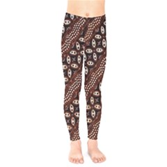 Art Traditional Batik Pattern Kids  Legging