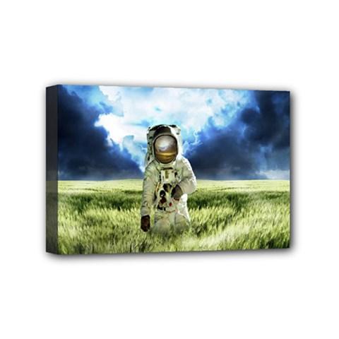 Astronaut Mini Canvas 6  X 4