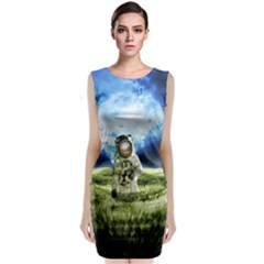 Astronaut Classic Sleeveless Midi Dress