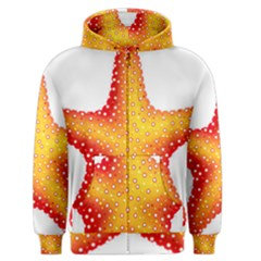 Starfish Men s Zipper Hoodie