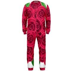 Floral Heart Onepiece Jumpsuit (men)