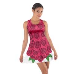 Floral Heart Cotton Racerback Dress