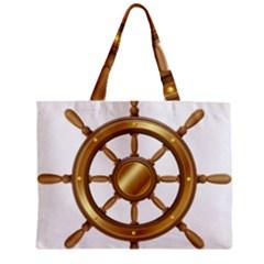 Boat Wheel Transparent Clip Art Zipper Mini Tote Bag
