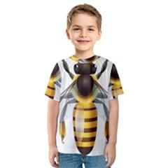 Bee Kids  Sport Mesh Tee