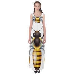Bee Empire Waist Maxi Dress