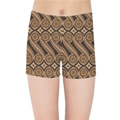 Batik The Traditional Fabric Kids Sports Shorts