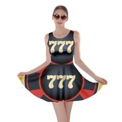Casino Chip Clip Art Skater Dress