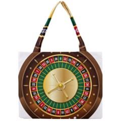 Casino Roulette Clipart Mini Tote Bag