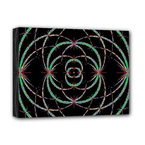 Abstract Spider Web Deluxe Canvas 16  X 12