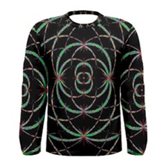 Abstract Spider Web Men s Long Sleeve Tee