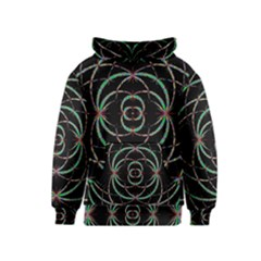Abstract Spider Web Kids  Pullover Hoodie