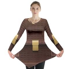 Brown Bag Long Sleeve Tunic