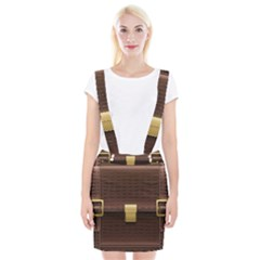 Brown Bag Braces Suspender Skirt