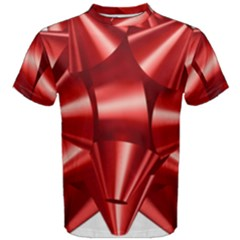 Red Bow Men s Cotton Tee