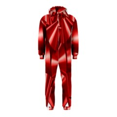 Red Bow Hooded Jumpsuit (kids)