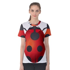 Ladybug Insects Women s Cotton Tee