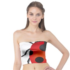 Ladybug Insects Tube Top