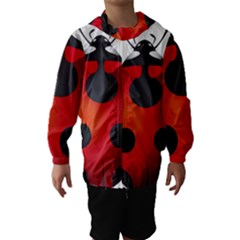 Ladybug Insects Hooded Wind Breaker (kids)