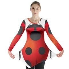 Ladybug Insects Long Sleeve Tunic