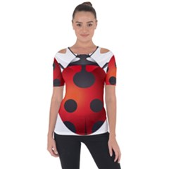Ladybug Insects Short Sleeve Top