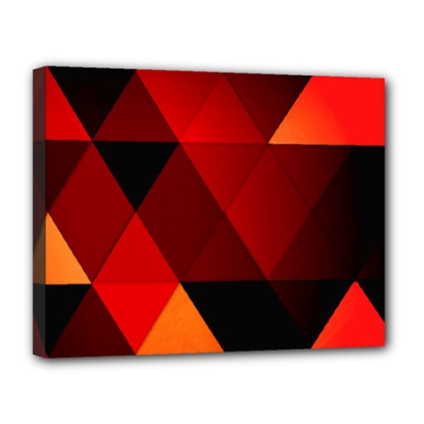 Abstract Triangle Wallpaper Canvas 14  X 11