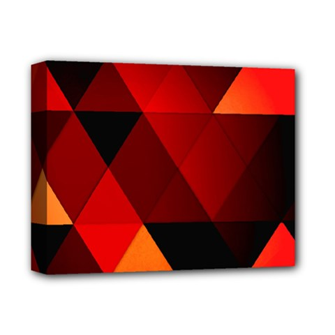 Abstract Triangle Wallpaper Deluxe Canvas 14  X 11