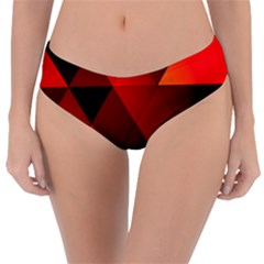 Abstract Triangle Wallpaper Reversible Classic Bikini Bottoms