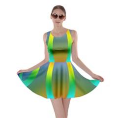 Colorful Easter Egg Skater Dress