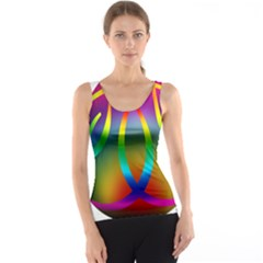 Colorful Easter Egg Tank Top