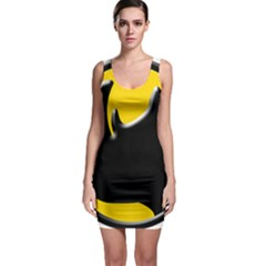 Black Rhino Logo Bodycon Dress