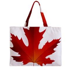 Autumn Maple Leaf Clip Art Medium Tote Bag