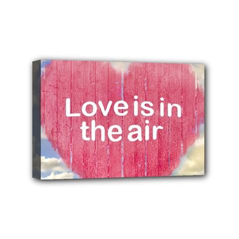 Love Concept Poster Design Mini Canvas 6  X 4