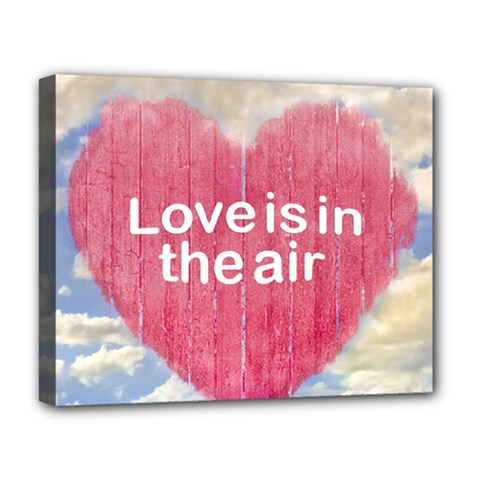 Love Concept Poster Design Deluxe Canvas 20  X 16