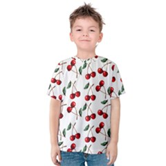 Cherry Red Kids  Cotton Tee