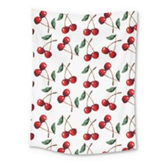 Cherry Red Medium Tapestry