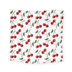 Cherry Red Square Tapestry (small)