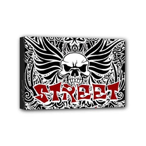Tattoo Tribal Street Art Mini Canvas 6  X 4