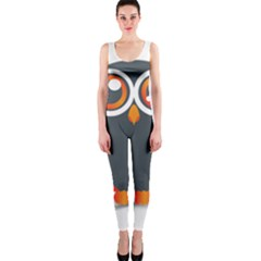 Owl Logo Onepiece Catsuit